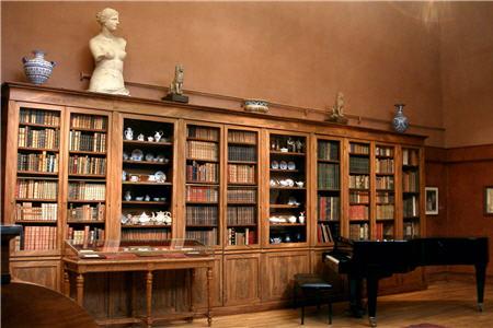 Salles de f tes le mus e de la vie romantique - Musee de la vie romantique salon de the ...