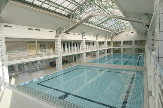 Paris la piscine h bert xviiie deux bassins for Piscine hebert