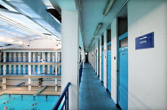 Paris la piscine pontoise ve 160 cabines - Horaires piscine pontoise ...