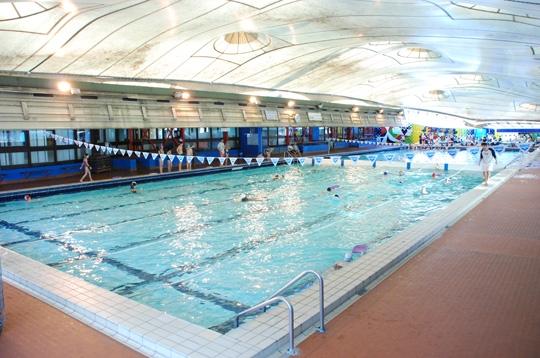 Paris la piscine roger le gall xiie le bassin - Piscine 50 metres paris ...