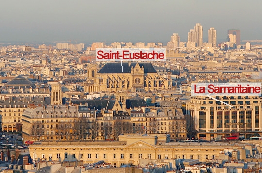 Restaurant En Haut De La Samaritaine Paris