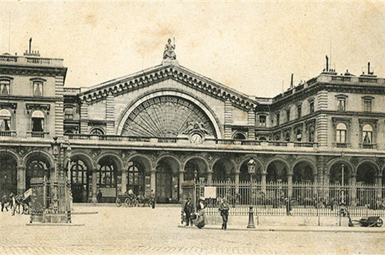 La gare de l'Est