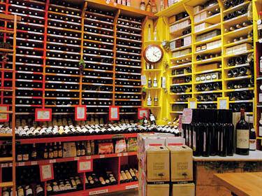 paris shopping selection caves a vin shtml