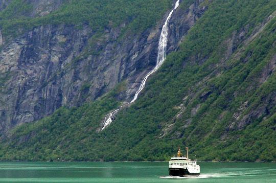 galerie photo  s u00e9lection juillet 2006   fjord de geiranger