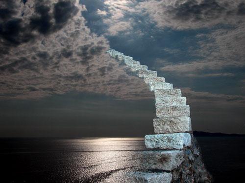 ariel alexandre   escalier vers le paradis