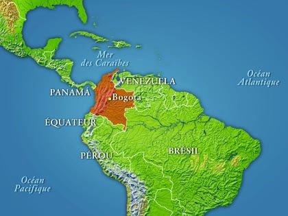 Carte Amerique Du Sud Colombie.Le Dessous Des Cartes La Colombie Point De Passage Entre