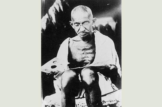 Gandhi et l'indépendance de l'Inde