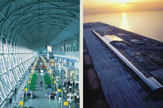 Aeroporto Osaka Renzo Piano : Renzo piano en images aéroport kansaï d osaka