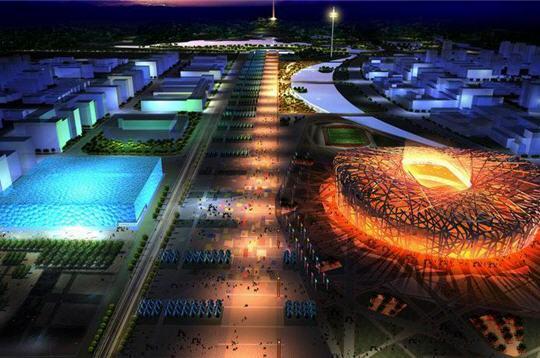 صور لمسبح الأولمبي لبكين 1