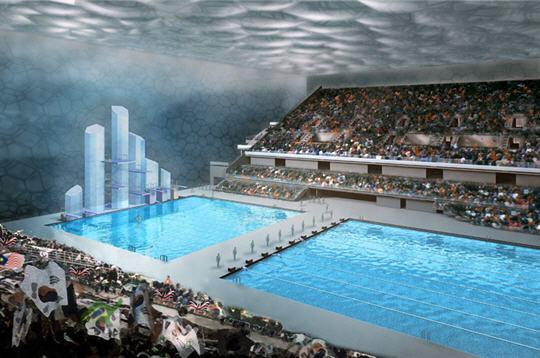 صور لمسبح الأولمبي لبكين 3