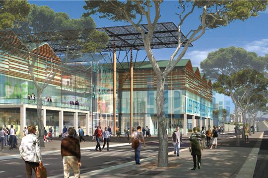 Marseille eurom diterran e en images les terrasses du port - Les terrasses du port marseille ...