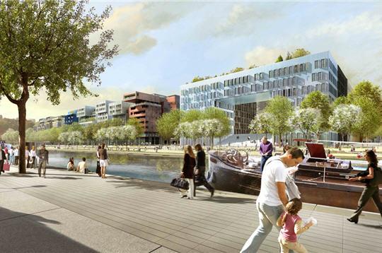 Lyon confluence la place nautique for Salon nautique lyon