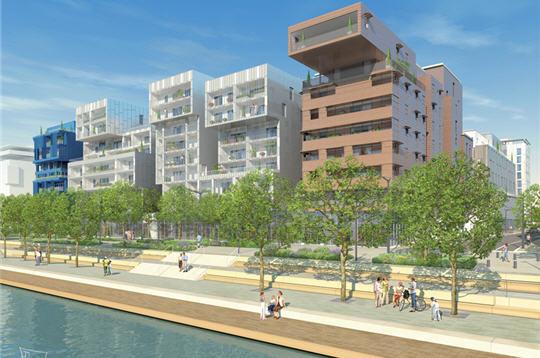Lyon confluence logements for Salon nautique lyon