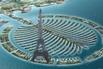 Tour Eiffel à Dubai