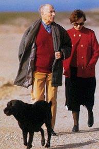 Danielle et François Mitterrand