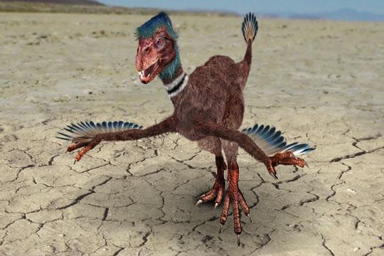 Incisivosaure image de synth se d un incisivosaure sur l - Jeux de dinosaure volant ...