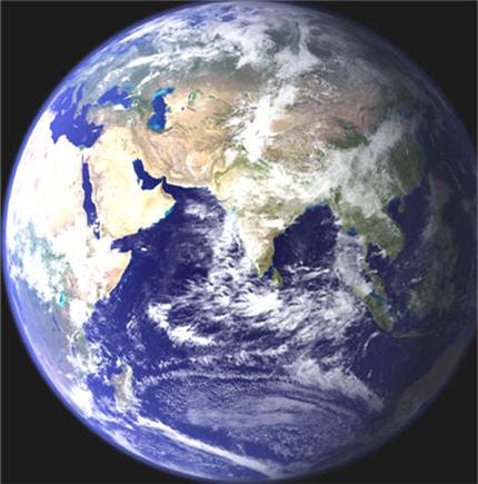 La terre de Monia Boulila Globe