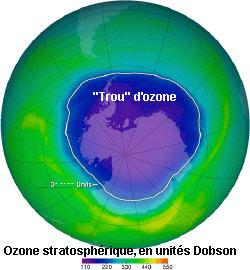 Pourquoi se plaint on du trou de la couche d 39 ozone et de la pollution l 39 ozone - Trou de la couche d ozone ...