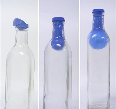 exp rience ballon gonfl l 39 envers bouteille aspirante. Black Bedroom Furniture Sets. Home Design Ideas