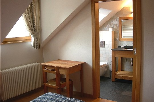 Week end chambres d 39 h tes la foresti re salle de bain - Salle de bain chambre d hotes ...