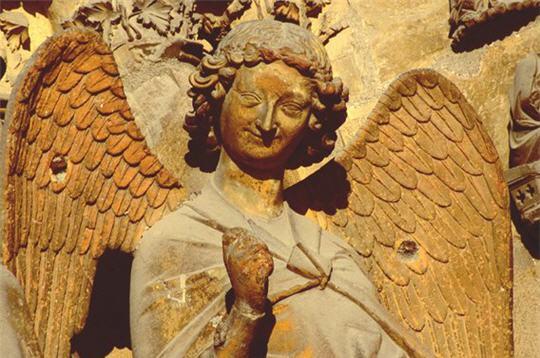 Ange Cathedrale Reims L'ange au Sourire de Reims
