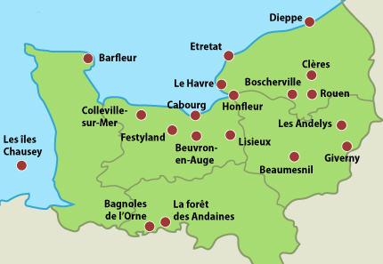 Vos bons coins en Normandie