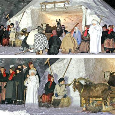 Les cr ches vivantes bessans rh ne alpes - Office du tourisme bessans ...
