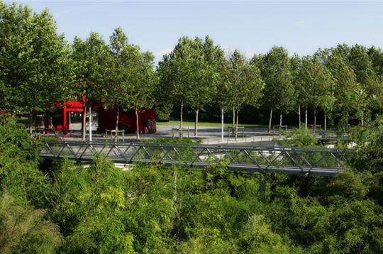 Les 10 Jardins Th Me De La Villette Jardin Des Bambous