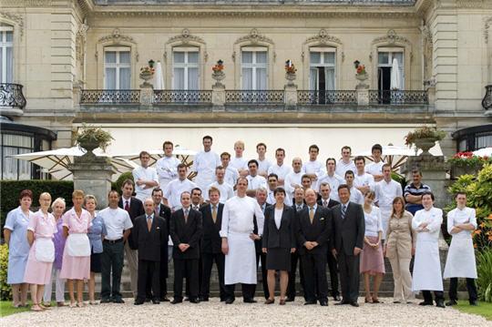 Le ch teau des cray res reims l 39 quipe - Restaurant le jardin reims crayeres ...