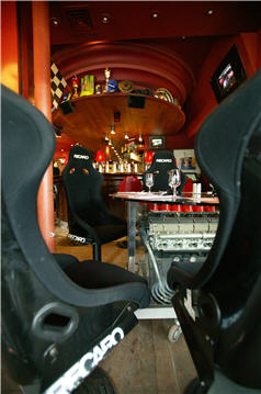 caf restaurant auto passion. Black Bedroom Furniture Sets. Home Design Ideas