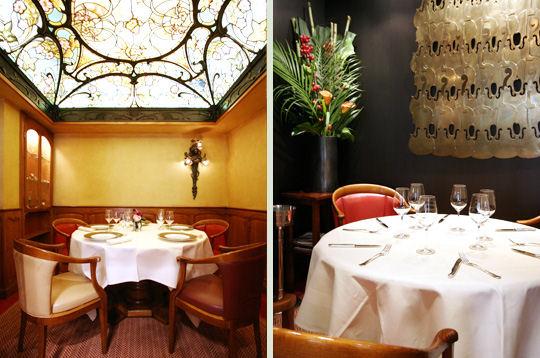 Visite de la cave vin du restaurant michel rostang art for Restaurant michel rostang