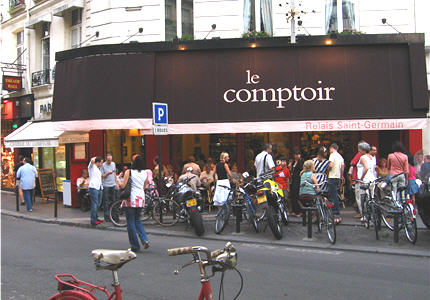 Life after lobster good eats paris le relais du comptoir - Le comptoir paris restaurant reservations ...