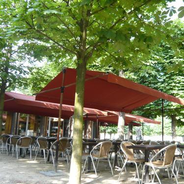 Les restaurants de parcs et jardins publics le caf v ry for Restaurant au jardin paris