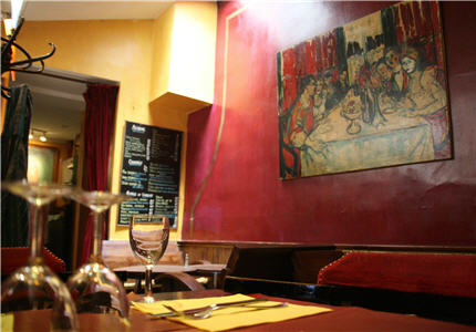 restaurants montmartre le z bre montmartre. Black Bedroom Furniture Sets. Home Design Ideas