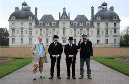 Courses pied d guis es le marathon de cheverny - Le chateau de moulinsart ...