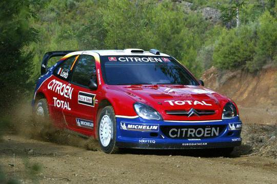 s bastien loeb au volant de la citroen xsara. Black Bedroom Furniture Sets. Home Design Ideas