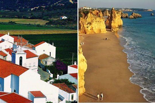 Villages et plages