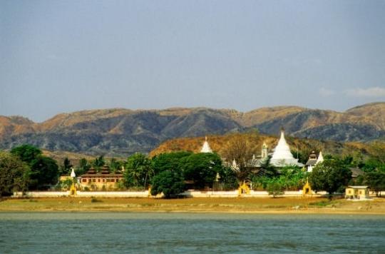 Les rives de l'irrawaddy