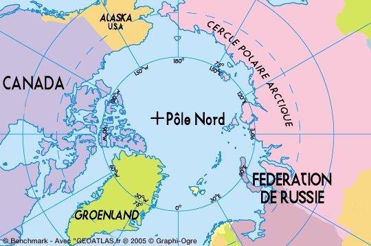 Bataille pour l'Arctique carte