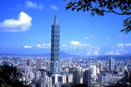 la plus haute tour du monde made in ta wan sur l 39 internaute voyager. Black Bedroom Furniture Sets. Home Design Ideas
