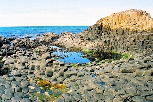 La chaussée des géants, Irlande du nord - Les 100 paysages du monde ...