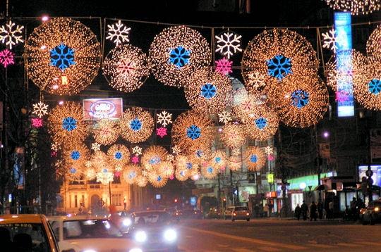 Illuminations bucarest no l autour du monde sur l 39 internaute voyager for Illumination exterieure pour noel