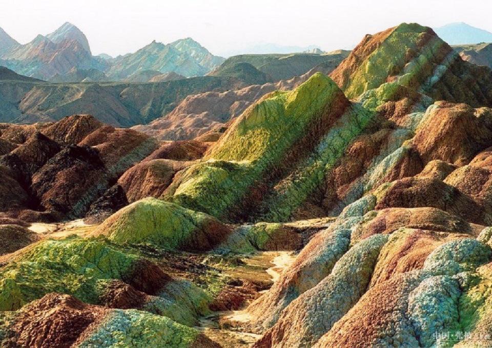 Chine : le site naturel le plus coloré du monde  2