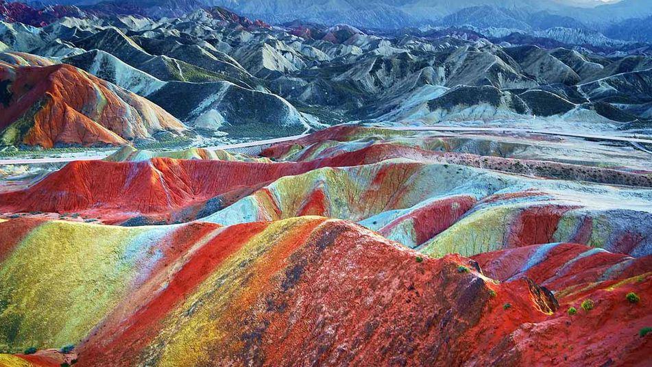 Chine : le site naturel le plus coloré du monde  3