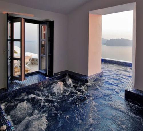 20 id es pour transformer sa maison en un lieu exceptionnel - Spa gonflable interieur ...